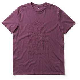 Houdini Big Up Message Camiseta Hombre, rasberry rush red